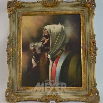 Gemälde ''Rauchender Araber''