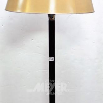 Stehlampe mit Metallfuß, 2-flammig mit