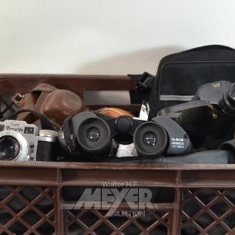 großer Posten alte Fotoapparate,