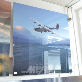 Hochglanz-Foto ''Aufklärungsflugzeug