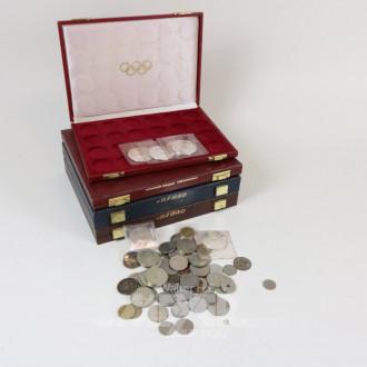 Posten versch. Münzen
