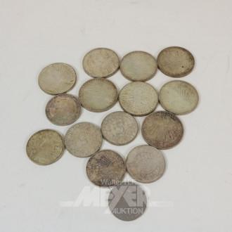 Posten Deutsche Mark- Münzen