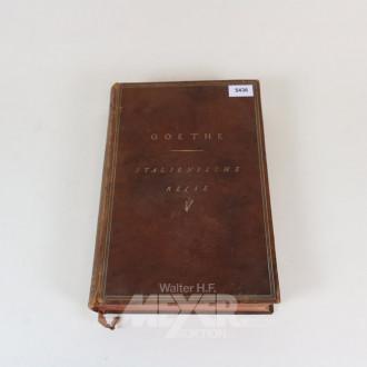 Buch ''Goethes Italienische Reise''