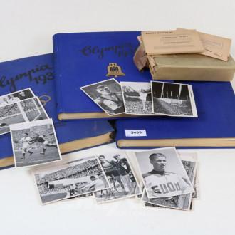 3 Bücher und Bilbände über die Olympiade