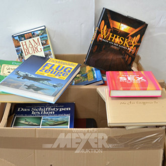 Posten Bücher - Bildbände (4 Kartons)
