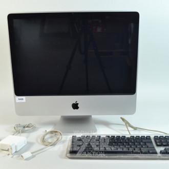 Apple iMAC mit Tastatur und Maus