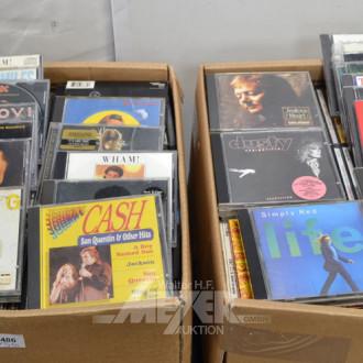 gr. Posten CD's und DVD's