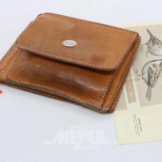 Portemonnaie mit div. Münzen