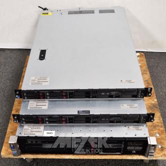 3 Rack-Server ''HP''