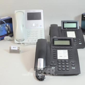 Telefonanlage ''AGFEO'' bestehend aus: