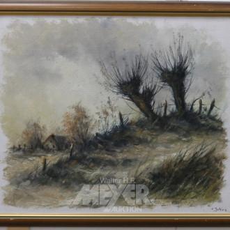Gemälde, ''Herbstl. Landschaft''