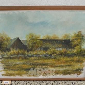 Gemälde ''Gehöfft''