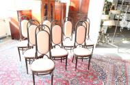 Tischgruppe ''THONET'' best. aus: