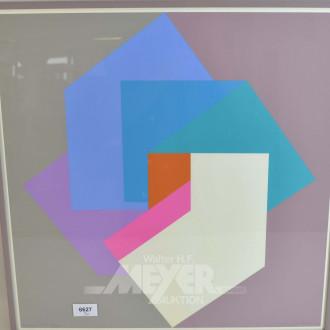 3 div. Drucke ''Geometrische Formen''