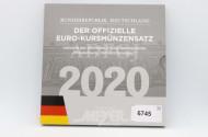 EURO-Kursmünzsatz, BRD,