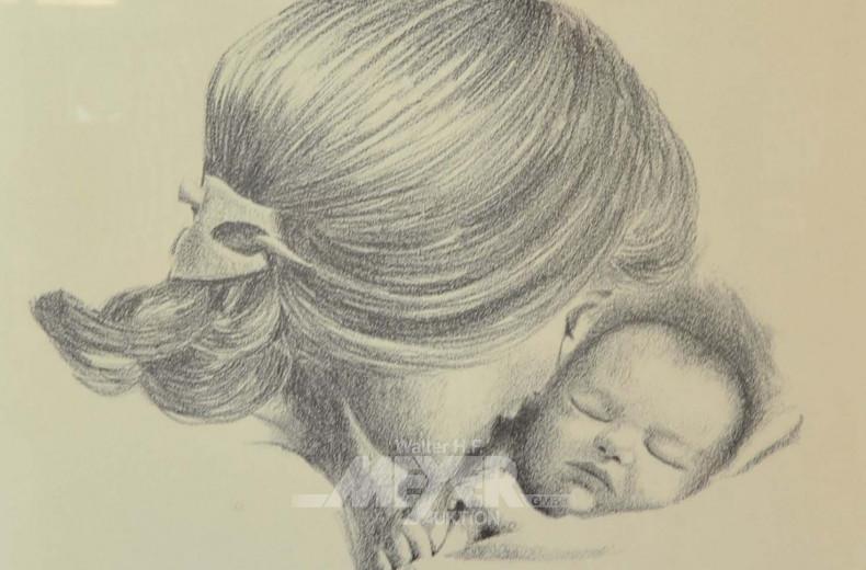 Bild ''Mutter mit Kind''