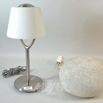 2 versch. Tischlampen