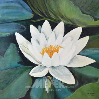 Gemälde ''Seerose''