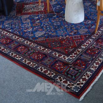 Orientteppich, blau/rotgrundig