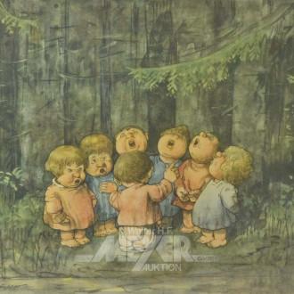 kl. Druck ''Kinderchor im Wald''
