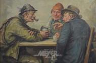 gr. Gemälde ''Wirtshausszene''
