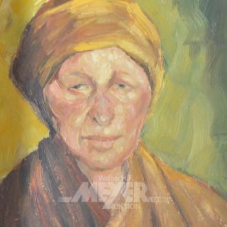 kl. Gemälde ''Damenportrait''