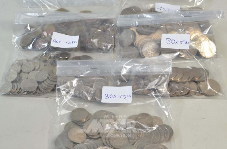Posten DM-Münzen