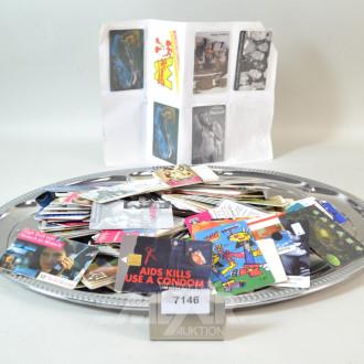 Posten Telefonkarten, ca. 100 Stück