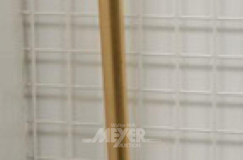 Paar Stab-Wandlampen mit Glasschirm