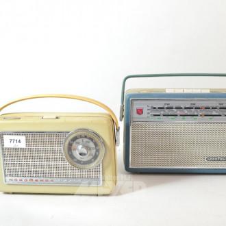 2 Koffer-Radios NORDMENDE