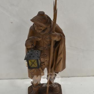 Holzschnitzfigur ''Nachtwächter''