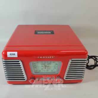 Radio mit Plattenspieler ''CROSLEY''