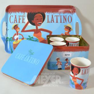 Kaffee-Set, 5-tlg., best. aus: