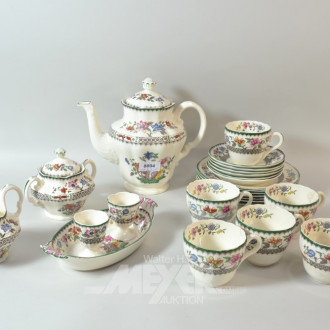Kaffeeservice SPODE China Rose