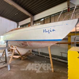 Segelboot Typ TRINTELLA II, LxBxH 10,0 x
