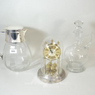 kalte Ente, 1 Glas-Karaffe sowie