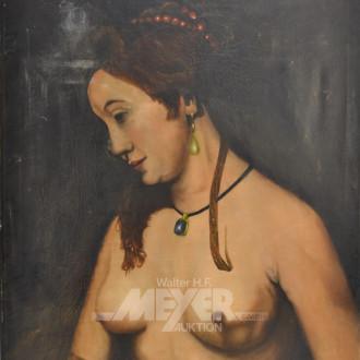 Gemälde ''Weiblicher Akt''