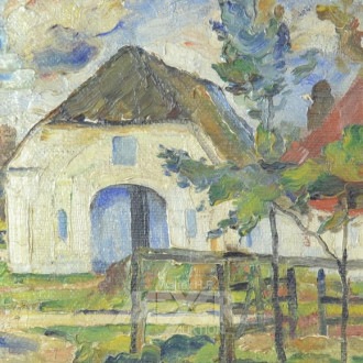 Gemälde ''Scheune''