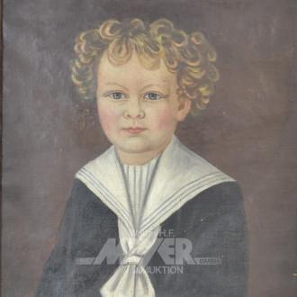Gemälde ''Jungenportrait''