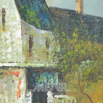 Gemälde ''Dorfansicht''