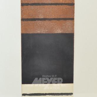 Lithografie ''Rechteck''