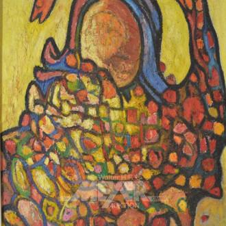 Gemälde ''Schlangennest''