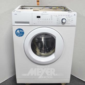 Waschmaschine, BAUKNECHT ohne Deckel