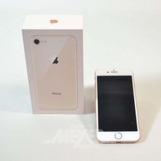 iPhone 8, rose/goldfarbig, 64 GB