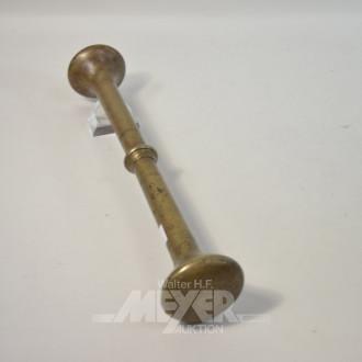 gr. Metall-Stößel, Höhe: ca 40 cm