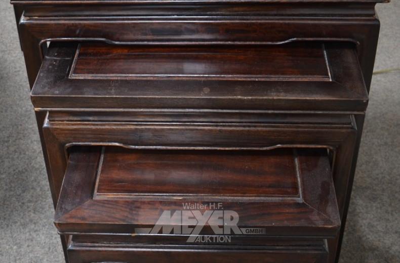 Dreisatztisch, asiatisch, Massivholz,