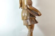 gr. Holzschnitz-Figur