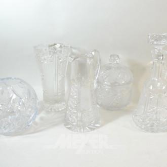 6 Teile Kristall: