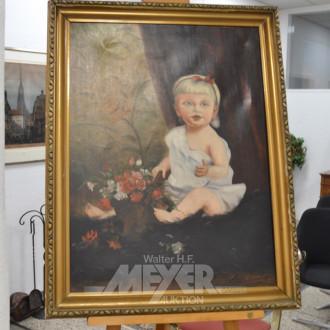 Gemälde ''Mädchenportrait''