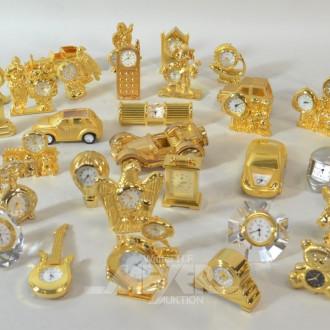 Posten div. Miniatur Uhren